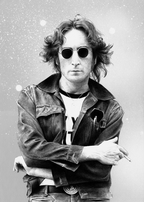 John Lennon por Petrol
